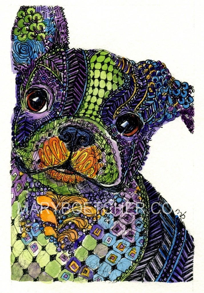 Mary Boettcher Zentangle Mary Boettcher